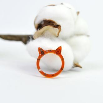 Перстень з епоксиндої смоли