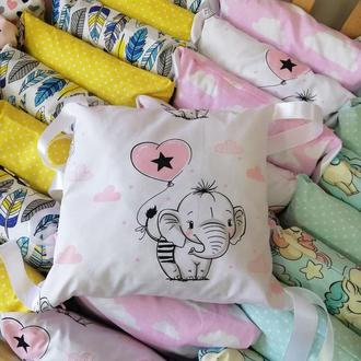 Детская постель, бортики