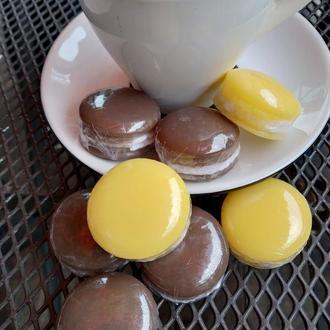 Мыло. Макарун. Macarons. Soap.