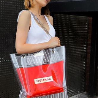 Трендовая сумка-шоппер FIGLIMON