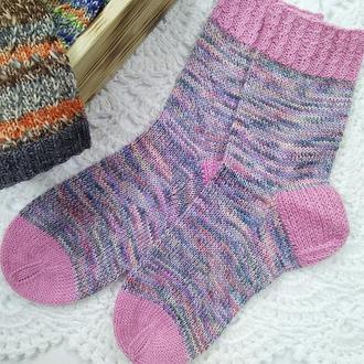 Вязаные носки Weave (из специальной носочной пряжи ) р-р 38-40