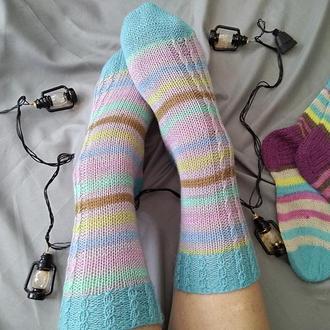 Вязаные носки Ocean (из специальной носочной пряжи 38-40)