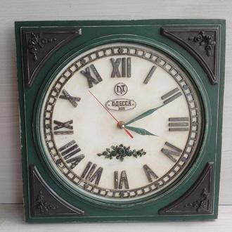 Настенные часы Вокзал Винтаж