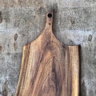 дерев'яні дошки для подачі страв