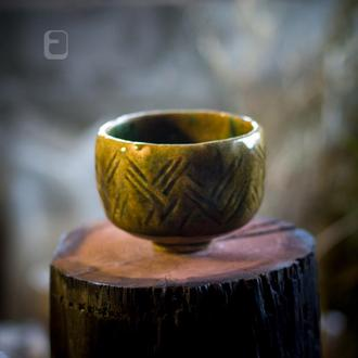 """Work no. 352AW — chawan """"OraBroTur.C7.L"""", teabowl in japanese style"""