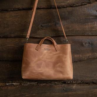 Женская сумка, сумка из кожи Bella