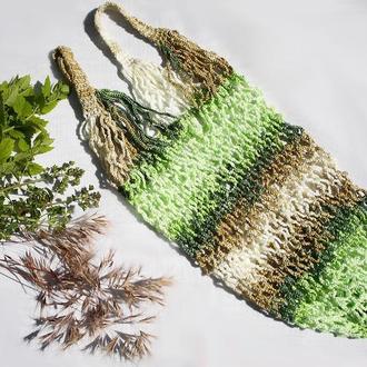 Авоська плетеная 40х23см
