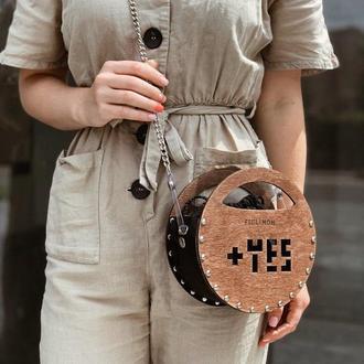 Стильная женская сумочка FIGLIMON miniature | черная