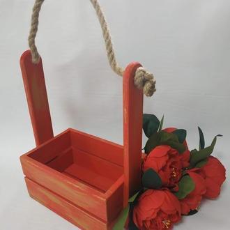 Ящики флористичні для квітів