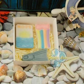 Подарочный набор мыла «Море мужской»
