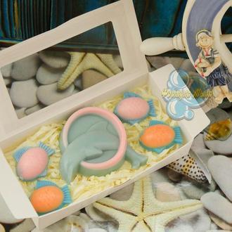 Подарочный набор мыла «Морские жители»