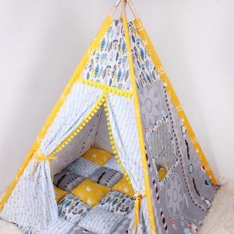 Детская палатка-вигвам Ловец снов 125х125х170 см