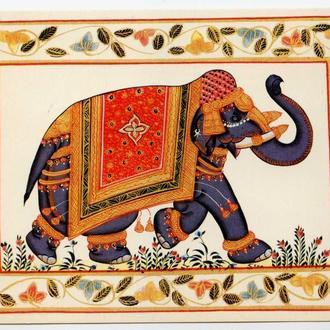 открытка Elephantidae