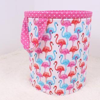 Корзина для игрушек Фламинго
