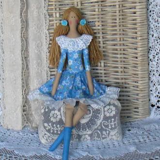 Кукла в стиле Тильда Барбара 48см ВНИМАНИЕ БОНУС !!!