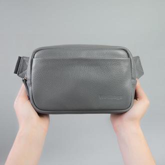 Waist Bag Leon gray (артикул: wb020)