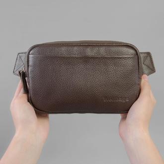 Waist Bag Leon brown (артикул: wb020.2)