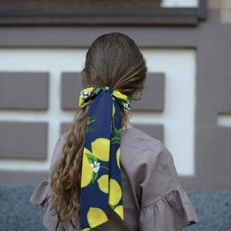Стильный платок , галстук твилли, лента для волос