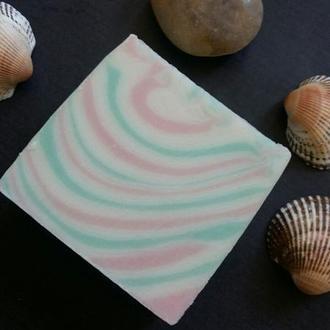 Натуральное мыло с нуля. ОКЕАН (шелковое)