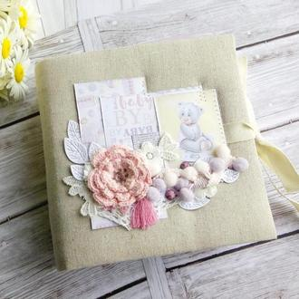 Детский фотоальбом для маленькой принцессы Отличный подарок для новорожденного