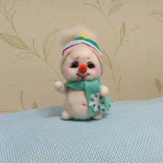 интерьерная игрушка Снеговик