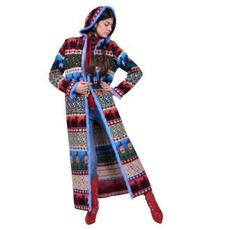 Авторское трикотажное пальто