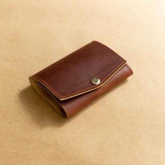 Мини кошелек,  из натуральной кожи