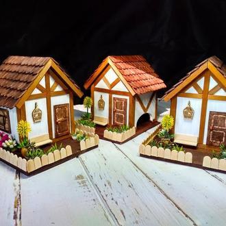 """Чайный домик с миниатюрой """"Голландские мотивы"""""""