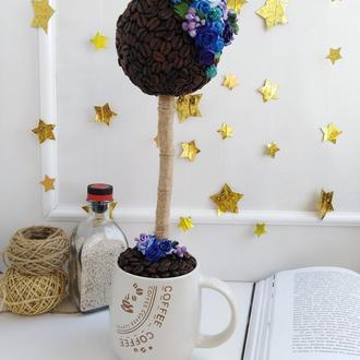 "Coffee Topiary ""Night sky"""
