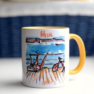 Чашка «Одеський пляж»