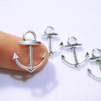 Металлическая фурнитура морской якорь для украшений