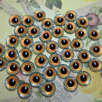 Глаза-кабошоны 14 мм №50