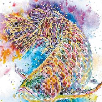 Схема для вышивки бисером «Рыбка удачи»