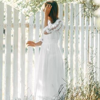 вишита сукня, весільна вишита сукня, вишите весільне плаття