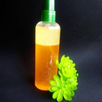 Двухфазный спрей для волос с маслом абиссинии Увлажнение и распутывание