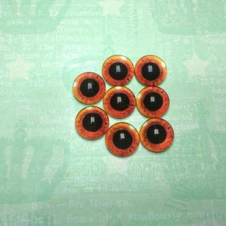 Глаза-кабошоны 12 мм №83