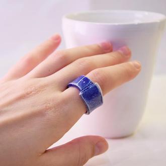 Тёмно-синее кольцо
