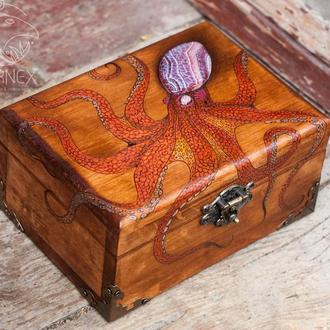 """Шкатулка """"Octopus 2""""."""