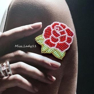 Брошь ′Роза′