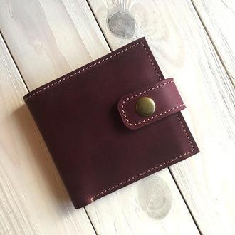 Женский кошелек  из кожи Goose™ G0034 марсала