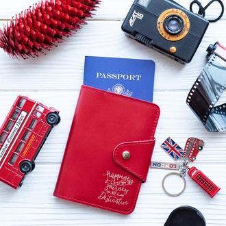 Обложка на паспорт, кожаная обложка на паспорт, обложка из натуральной кожи