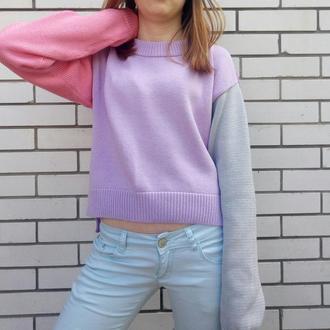 "Летний свитер ""Вright summer"""
