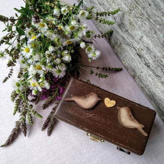 Свадебная шкатулка в стиле Рустик