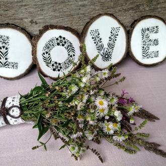 Свадебный декор Love