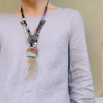 Мягкое текстильное ожерелье Дочь Крахена - Булькхен