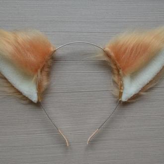 Персиковые ушки для лисички