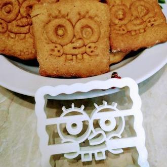 Пресс-форма для печенья Губка Боб, шт, пластик