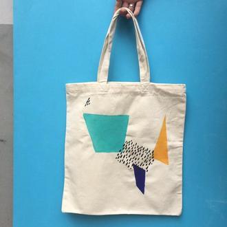 Еко сумка абстракція 3