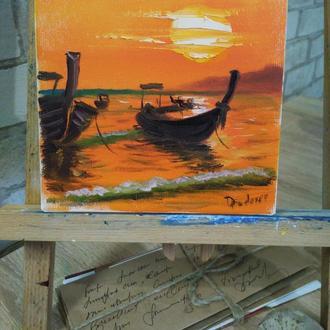 Картина маслом Таиланд