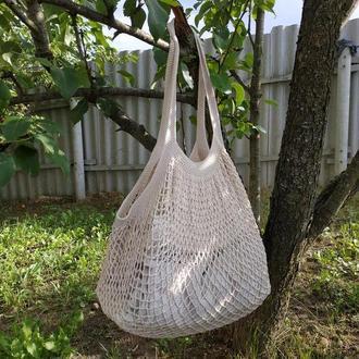 Универсальная вязаная сумка